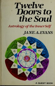 Cover of: Twelve doors to the soul | Evans, Jane A.