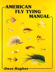 Cover of: American fly tying manual