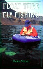 Cover of: Float tube fly fishing