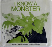 Cover of: I know a monster