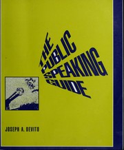 Cover of: The public speaking guide