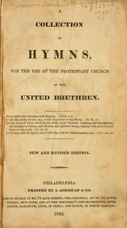 Cover of: A collection of hymns
