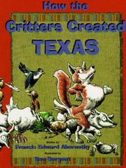 Cover of: How the critters created Texas