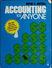 Cover of: Accounting for anyone | Wayne S. Boutell