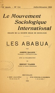 Cover of: Les Ababua