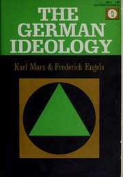 Cover of: Deutsche Ideologie