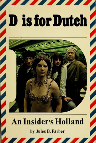 D is for Dutch by Jules B. Farber