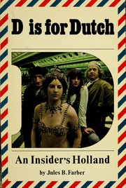 Cover of: D is for Dutch | Jules B. Farber