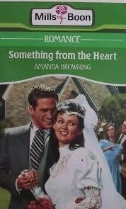 Cover of: Something from the heart | Amanda Browning