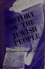 Cover of: A history of the Jewish people