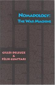 Cover of: Nomadology