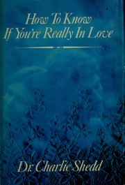 Cover of: How to know if you're really in love