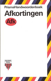 Cover of: Afkortingen lexicon