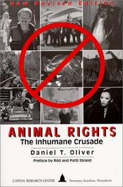 Cover of: Animal rights | Daniel T. Oliver