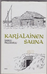 Cover of: Karjalainen sauna