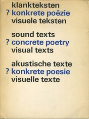Cover of: sound texts?Concrete Poetry?Visual tExts? | Stedelijk Museum (Amsterdam, Netherlands)