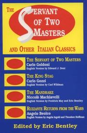 Cover of: The Servant of Two Masters