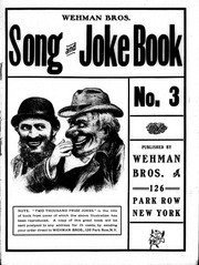 Cover of: Wehman Bros. Song and Joke Book |