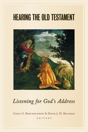 Cover of: Hearing the Old Testament
