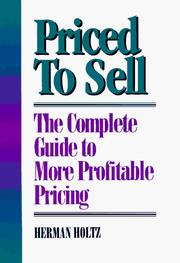 Cover of: Priced to sell
