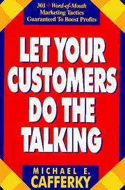 Cover of: Let your customers do the talking