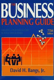 The business planning guide by David H. Bangs