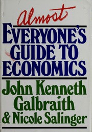 Cover of: Almost everyone's guide to economics