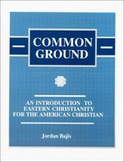 Cover of: Common Ground | Jordan Bajis