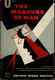 Cover of: The measure of man