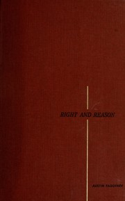 Cover of: Right and reason | Austin Fagothey