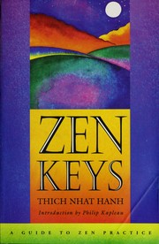 Cover of: Zen keys | Thich Nhat Hanh
