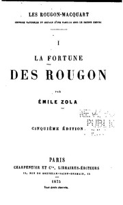 Cover of: La fortune des Rougon | Émile Zola