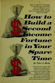 Cover of: How to build a second-income fortune in your spare time
