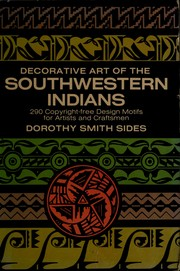 Cover of: Decorative art of the southwestern Indians