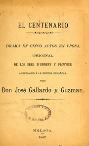 Cover of: El centenario