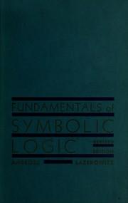 Fundamentals of symbolic logic