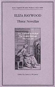 Cover of: Three novellas