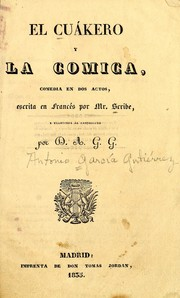 Cover of: El cuákero y la cómica