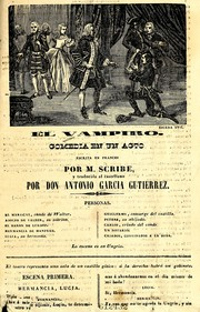 Cover of: El vampiro