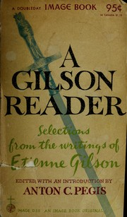 Cover of: A Gilson reader: selected writings.