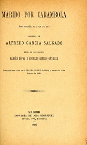 Cover of: Marido por carambola