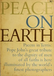 Pacem in terris by Catholic Church. Pope (1958-1963 : John XXIII).