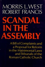 Cover of: Scandal in the assembly | Morris West