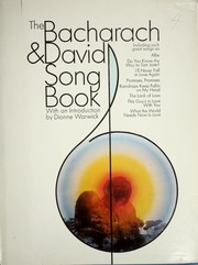 Cover of: The Bacharach and david song book | Burt Bacharach