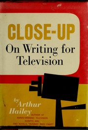 Cover of: Close-up on writing for television