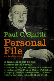 Cover of: Personal file