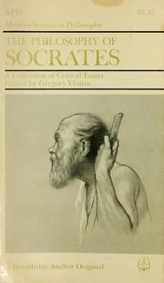 The philosophy of Socrates