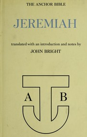 Cover of: Jeremiah