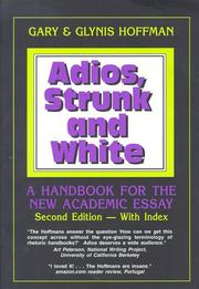 Adios, Strunk and White
