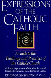 Cover of: Expressions of the Catholic faith